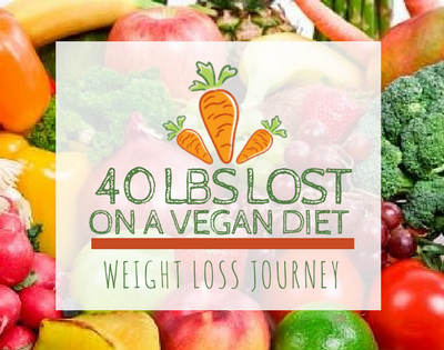 40 lbs Lost on My Weight Loss Journey with a Vegan Diet┃Week 1