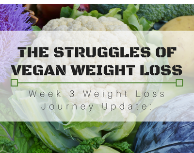 Weight Loss Journey Update: The Struggles of Vegan Weight Loss ┃Week 3