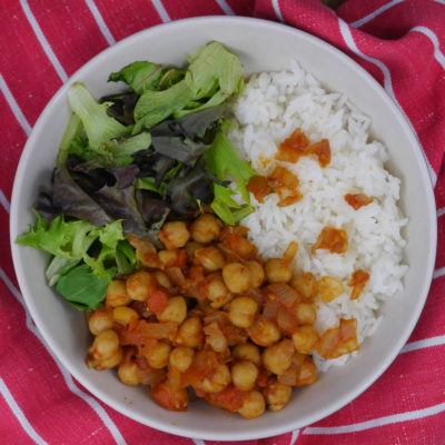 Spanish Chickpea Stir Fry: Garbanzos Fritos
